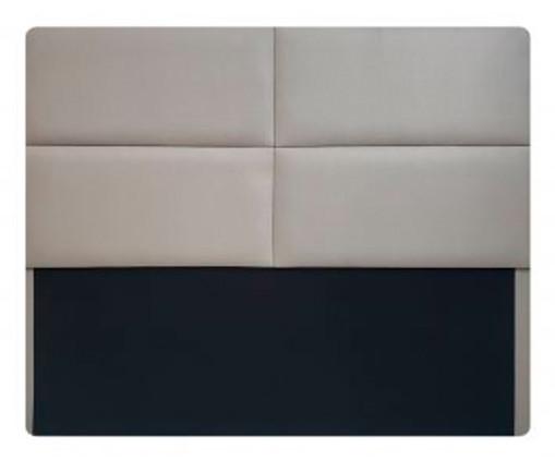 Cabeceira Painel em Veludo Toronto - Cinza Claro, Cinza | WestwingNow