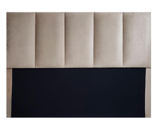 Cabeceira em Veludo Constanza - Bege Escuro, Bege | WestwingNow