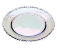 Prato Raso em Cristal Pearl - Colorido | WestwingNow