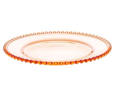 Prato Raso em Cristal Pearl - Âmbar | WestwingNow