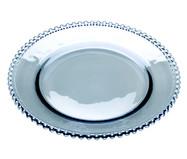 Prato Raso em Cristal Pearl - Azul | WestwingNow