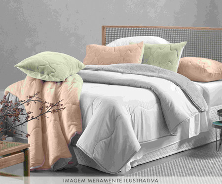 Edredom Blend Confort Sherpa - Rosa Lunar | WestwingNow
