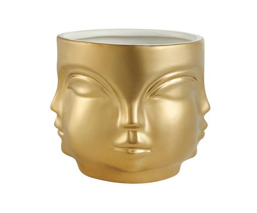 Cachepot Lela - Dourado, Dourado | WestwingNow