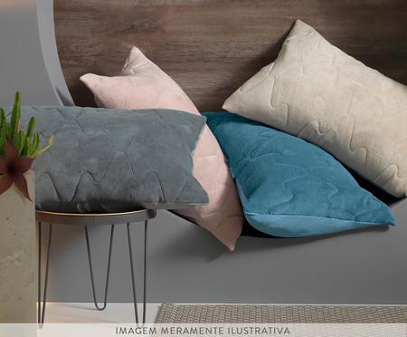 Porta-Travesseiro Blend Confort - Azul Dimensão | WestwingNow