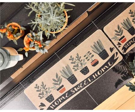 Tapete Passadeira de Cozinha Horta Perfumada - Verde | WestwingNow