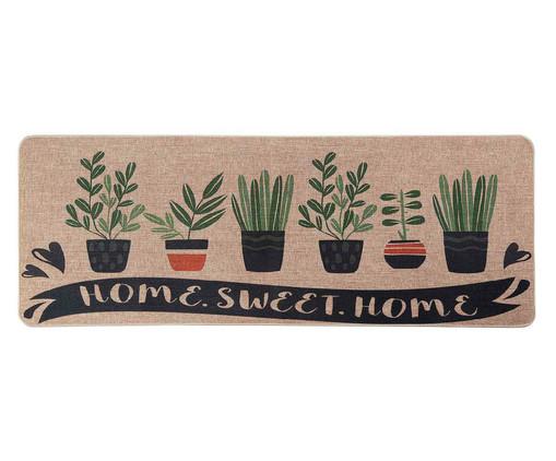 Tapete Passadeira de Cozinha Horta Perfumada - Verde, Verde | WestwingNow
