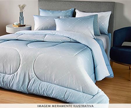 Coberdrom Dupla Face Azul Encanto - Azul | WestwingNow