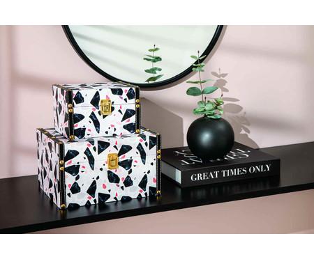 Vaso de Cerâmica Jessica - Preto | WestwingNow