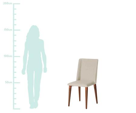 Jogo de Cadeiras em Madeira Thyra - Bege   WestwingNow