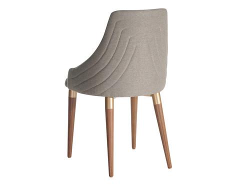 Jogo de Cadeiras em Madeira Evelyn - Cinza   WestwingNow