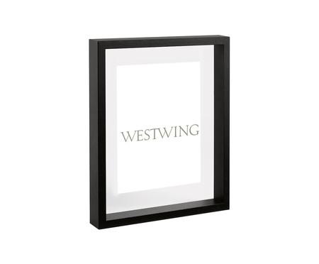 Porta-Retrato Ashley - Preto | WestwingNow