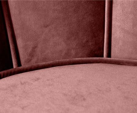 Jogo de Poltronas em Veludo Pétala - Rosa Chá | WestwingNow