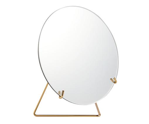 Espelho Lorena - Dourado, Dourado | WestwingNow