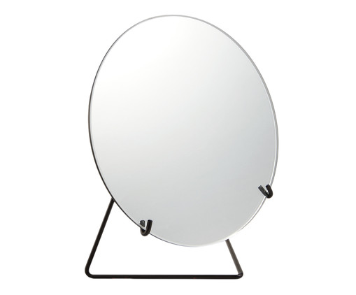 Espelho Lorena - Preto, Preto | WestwingNow