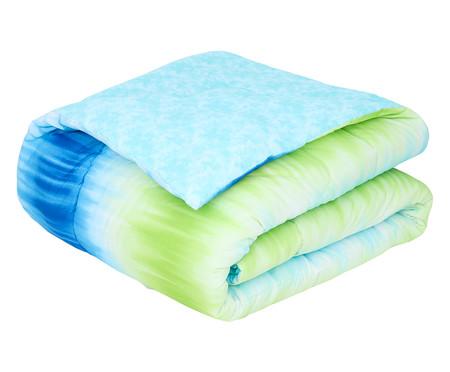 Edredom Tie Dye Azul - 120 Fios | WestwingNow