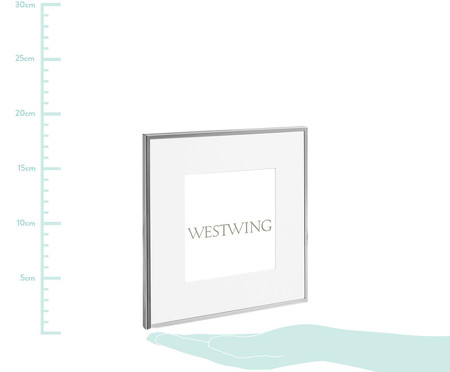 Porta-Retrato Lillie - Prata | WestwingNow