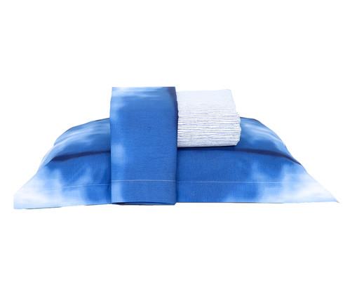 Jogo de Lençol Tulum Azul - 180 Fios, Azul | WestwingNow
