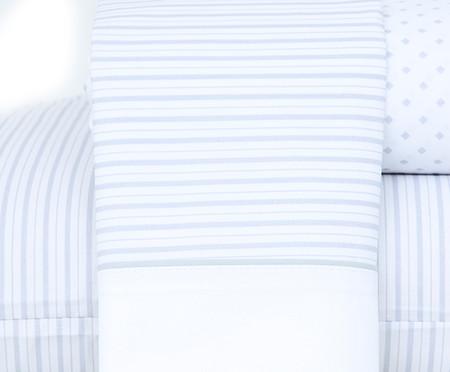 Jogo de Lençol Essencial Cinza - 200 Fios | WestwingNow