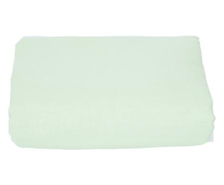 Lençol Inferior com Elástico Deza Verde - 120 Fios | WestwingNow