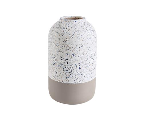 Vaso de Cerâmica Zipporah - Cinza e Branco, Cinza, Branco   WestwingNow
