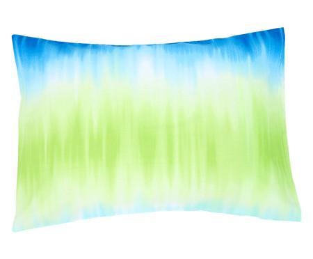 Jogo de Lençol Tie Dye Azul - 120 Fios | WestwingNow