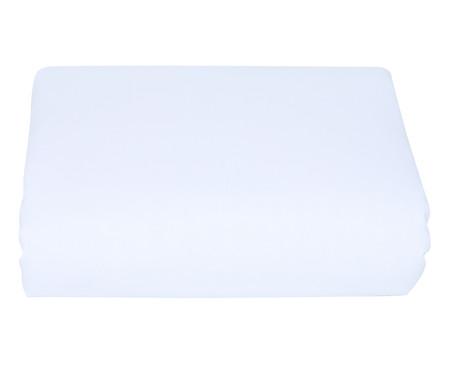 Lençol Inferior com Elástico Deza Branco - 120 Fios | WestwingNow