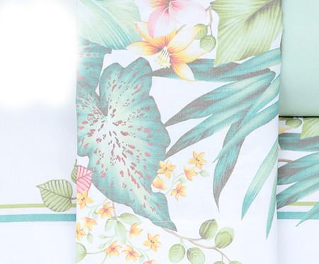 Jogo de Lençol Foliage Verde - 180 Fios | WestwingNow
