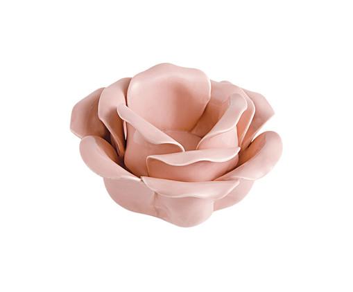 Porta-Vela de Cerâmica Mascagni - Rosa, Rosa | WestwingNow