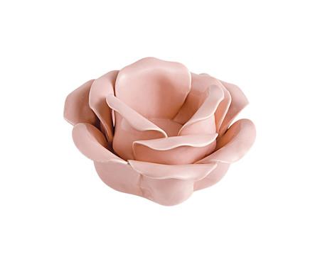 Porta-Vela de Cerâmica Mascagni - Rosa | WestwingNow