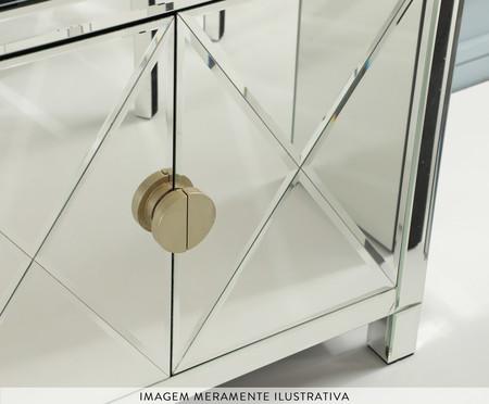 Buffet Mason 2 Portas - Prateado | WestwingNow