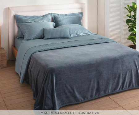 Cobertor Aspen - Azul | WestwingNow