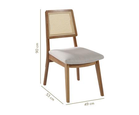 Cadeira Conde Galadriel - Amêndoa Natural   WestwingNow