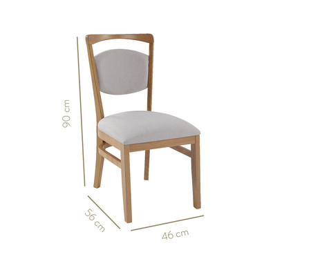 Cadeira Doux - Natural   WestwingNow