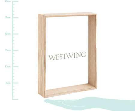 Porta-Retrato Ruthie - Natural | WestwingNow
