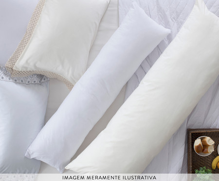 Travesseiro de Corpo Hug - Branco | WestwingNow