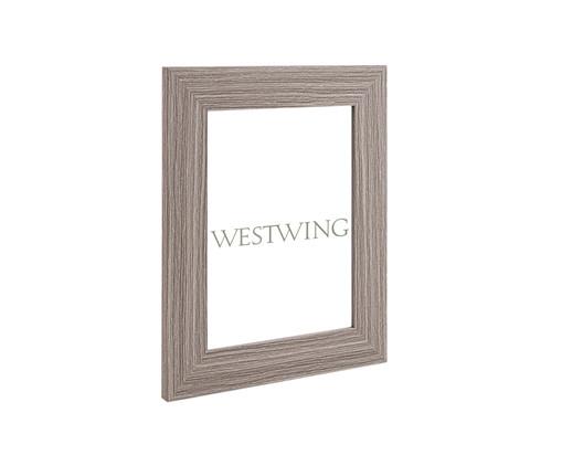 Porta-Retrato Angelita - Cinza, Cinza   WestwingNow