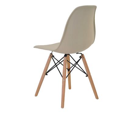 Jogo de Cadeiras Eiffel Nude - 02 Peças | WestwingNow