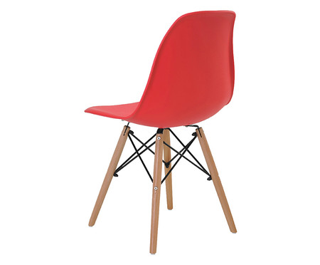 Jogo de Cadeiras Eiffel Vermelho - 02 Peças | WestwingNow