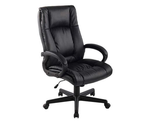 Cadeira Office Baza Americana - Preto, Preto | WestwingNow