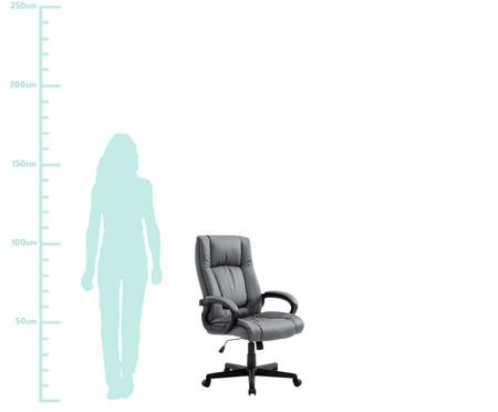 Cadeira Office Baza Americana - Cinza | WestwingNow