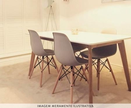 Jogo de Cadeiras Eiffel Cinza - 02 Peças | WestwingNow