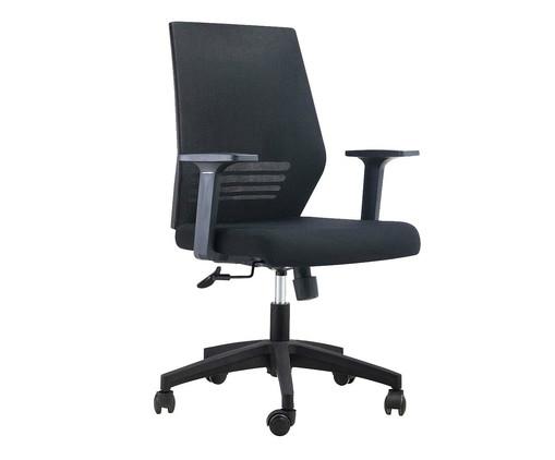 Cadeira Office Braga - Preto, Preto | WestwingNow