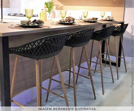 Banqueta Clarice - Preto | WestwingNow