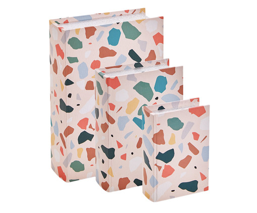 Book Box Longo, Colorido | WestwingNow