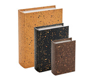 Jogo de Book Boxes Lato - Colorido | WestwingNow