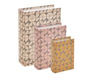 Jogo de Book Boxes Progin - Colorido | WestwingNow
