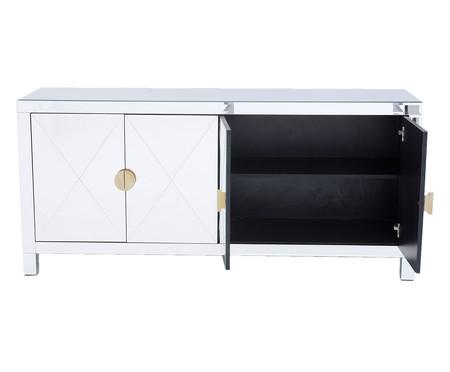 Buffet Mason 4 Portas - Prateado | WestwingNow