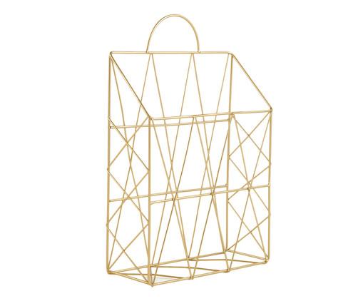 Revisteiro Vic - Dourado, Dourado | WestwingNow