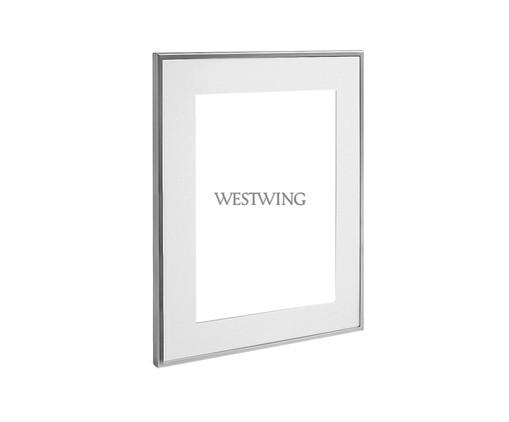Porta-Retrato Allen, Prata / Metálico | WestwingNow