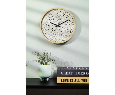 Relógio de Parede Fosco Ferda - Cru | WestwingNow
